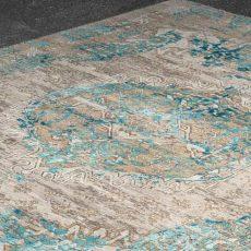 Teppich von Thibault van Renne, Kaschmirwolle mit Bambusseide