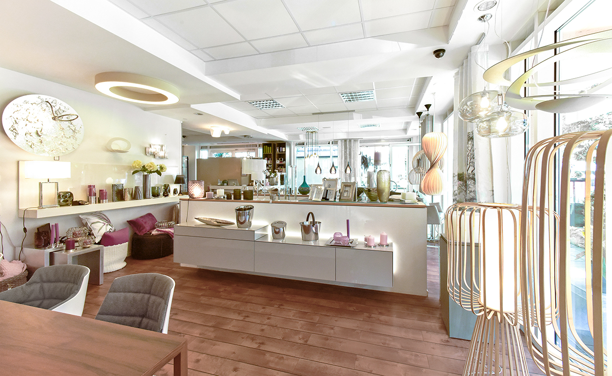 Stefanie Ludwig Interieur Showroom Impressionen