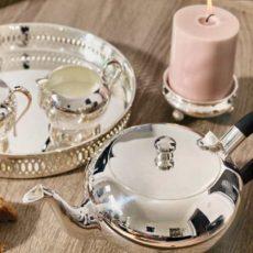 Stefanie Ludwig Interieur – Edzard Teeservice versilbert