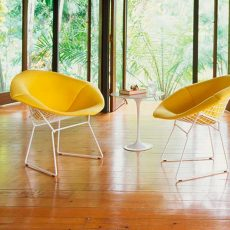Knoll International – Diamond Chair von Harry Bertoia, 1952